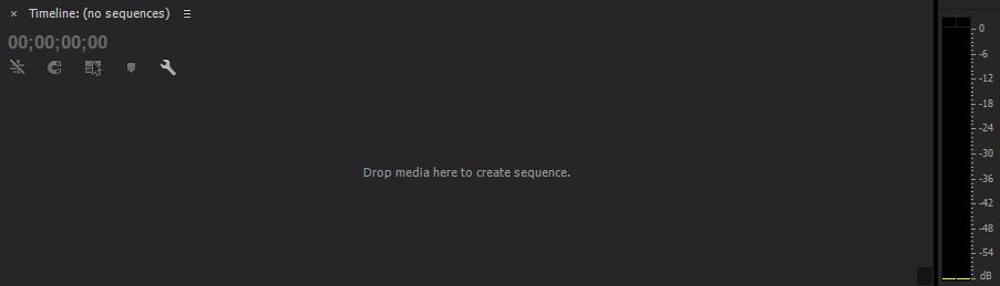 Hướng dẫn sử dụng Adobe Premiere - timeline sequence