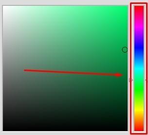 Cách chỉnh màu ảnh trên picsart - dải màu 7 sắc